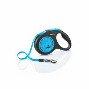 flexi New Neon Tape (pásek) modré, velikost M