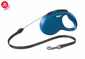 flexi new classic cord small modrá | © copyright jk animals, všechna práva vyhrazena