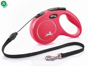 flexi new classic cord medium červená | © copyright jk animals, všechna práva vyhrazena
