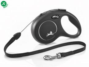 flexi new classic cord small černá   © copyright jk animals, všechna práva vyhrazena