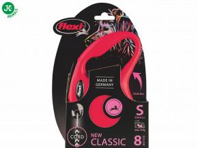 flexi new classic cord small červená | © copyright jk animals, všechna práva vyhrazena