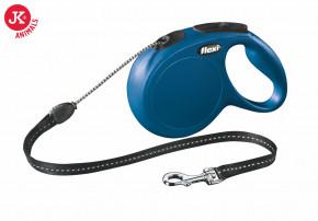 flexi new classic cord medium modrá | © copyright jk animals, všechna práva vyhrazena