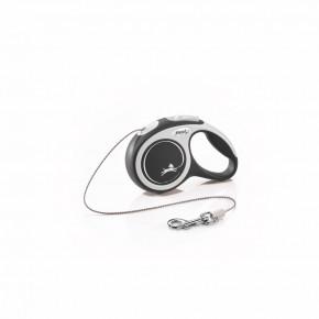 flexi New Comfort Cord (lanko), velikost XS, černé