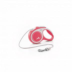 flexi New Comfort Cord (lanko), velikost XS, červené