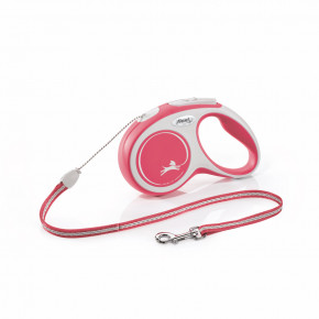 flexi New Comfort Cord (lanko), velikost S, červené