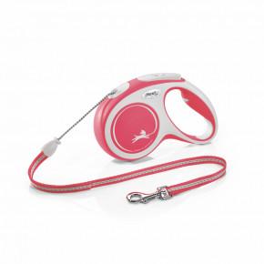 flexi New Comfort Cord (lanko), velikost M, červené