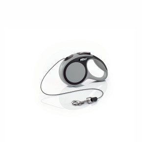 flexi New Comfort Cord (lanko), velikost XS, šedá