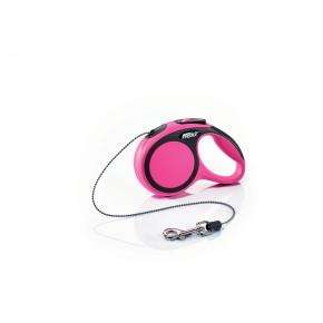 flexi New Comfort Cord (lanko), velikost XS, růžová