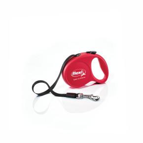 flexi Fun XS, mini - pásek, červená