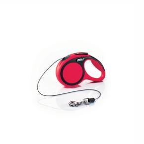 flexi New Comfort Cord (lanko), velikost XS, červená