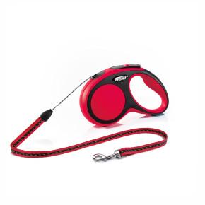 flexi New Comfort Cord (lanko), velikost S, červená