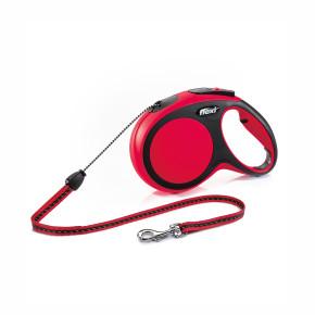 flexi New Comfort Cord (lanko), velikost M, červená