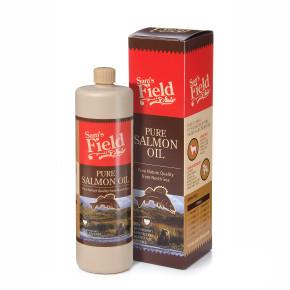Sam's Field Pure Salmon Oil, lososový olej, 750ml (Sams Field olej)