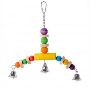 JK strašák, dřevěná hračka pro ptáky