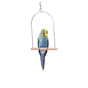 Ptačí dřevěná houpačka S, dřevěná hračka pro ptáky