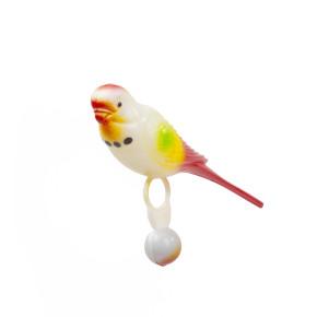 Andulka střední, plastová hračka pro ptáky