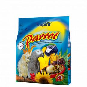 Tropifit Parrot, velký papoušek – směs na bázi vybraných přírodních složek, 1kg