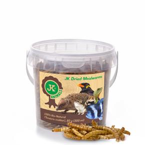 Sušení mouční červi JK Dried Mealworms, 80g, (Tenebrio Molitor)