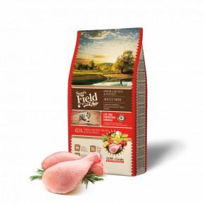 Sam's Field Low Grain Adult Mini Chicken & Potato, superprémiové granule pro dospělé psy všech mini a malých plemen, 8kg (Sams Field bez pšenice)