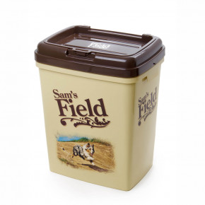Sam's Field plastový barel pro skladování granulí (Sams Field barel na granule)