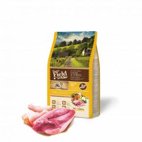 Sam's Field Gluten Free Goose & Turkey Adult Large, superprémiové granule pro dospělé psy velkých a obřích plemen, 2,5kg (Sams Field bez lepku)