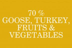 Sam's Field Gluten Free Goose & Turkey Adult Large, superprémiové granule pro dospělé psy velkých a obřích plemen, 2,5kg (Sams Field bez lepku) © copyright JK ANIMALS, všechna práva vyhrazena