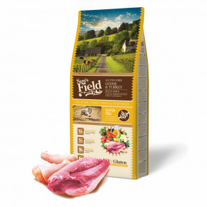 Sam's Field Gluten Free Goose & Turkey Adult Large, superprémiové granule pro dospělé psy velkých a obřích plemen, 13kg (Sams Field bez lepku)