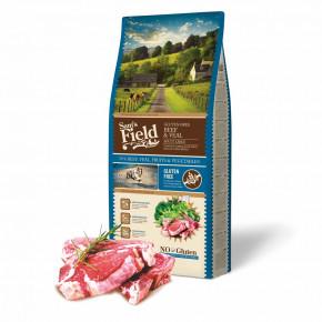 Sam's Field Gluten Free Beef & Veal Adult Large, superprémiové granule pro dospělé psy velkých a obřích plemen, 13kg (Sams Field bez lepku)