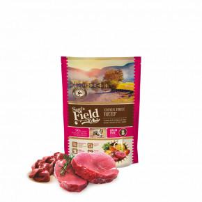 Sam's Field Grain Free Beef (Angus), superprémiové granule pro dospělé psy všech velikostí a plemen, 800g (Sams Field bez obilovin)