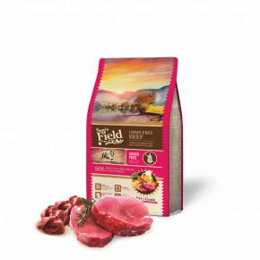 Sam's Field Grain Free Beef (Angus), superprémiové granule pro dospělé psy všech velikostí a plemen, 2,5kg (Sams Field bez obilovin)