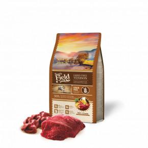 Sam's Field Grain Free Venison, superprémiové granule pro dospělé psy všech velikostí a plemen, 2,5kg (Sams Field bez obilovin)