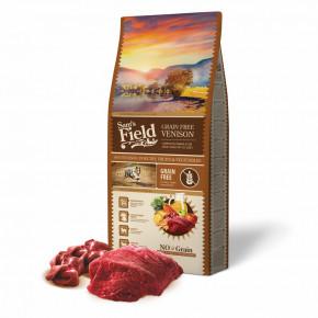 Sam's Field Grain Free Venison, superprémiové granule pro dospělé psy všech velikostí a plemen, 13kg (Sams Field bez obilovin)