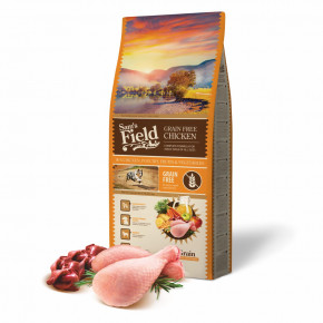 Sam's Field Grain Free Chicken, superprémiové granule pro dospělé psy všech velikostí a plemen, 13kg (Sams Field bez obilovin)