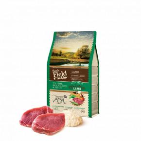 Sam's Field Low Grain Junior Large Lamb - Free Range, superprémiové granule pro štěňata a mladé psy velkých plemen s jehněčím z volného chovu, 2,5kg (Sams Field bez pšenice)