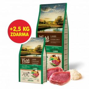Sam's Field Low Grain Junior Large Lamb - Free Range, superprémiové granule pro štěňata a mladé psy velkých plemen s jehněčím z volného chovu, 13kg (Sams Field bez pšenice)