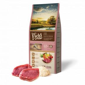 Sam's Field Low Grain Light & Senior Lamb & Rice, superprémiové granule pro psy se speciálními nároky na výživu, 13kg (Sams Field bez pšenice)